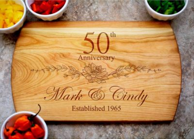 50th Wedding Anniversary Gifts 45 Golden Ideas To Honor A Lasting Love