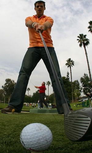 Needing fitted golf club