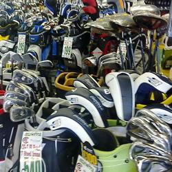 Numerous golf clubs