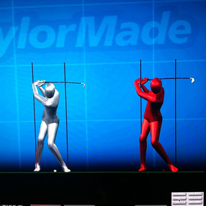 TaylorMade fitting clubs
