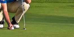 Golf putting grip