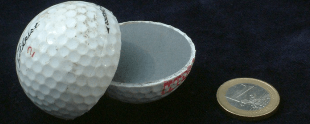 Golf Ball Inside View - How Golf Balls Work