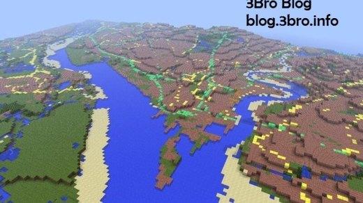 [時事]按照真實比例繪製的Minecraft版英國地圖 2