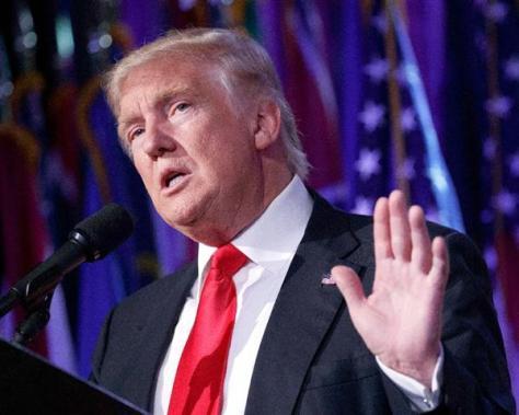 ドナルド・トランプ米次期大統領=ニューヨーク (AP)