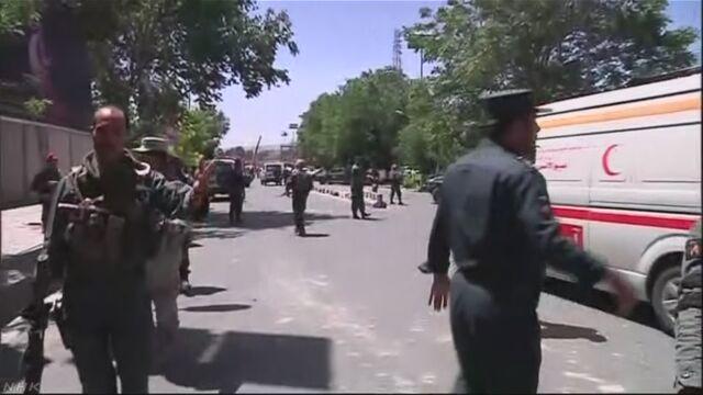 カブールで爆発 80人死亡 300人以上けが 日本人2人軽傷 | NHKニュース
