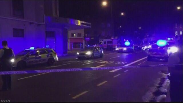 ロンドン 車両1台が突っこみ多数のけが人 1人拘束