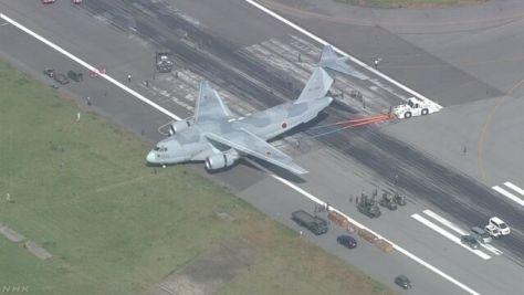 空自輸送機の滑走路逸脱は誤操縦が原因 米子空港