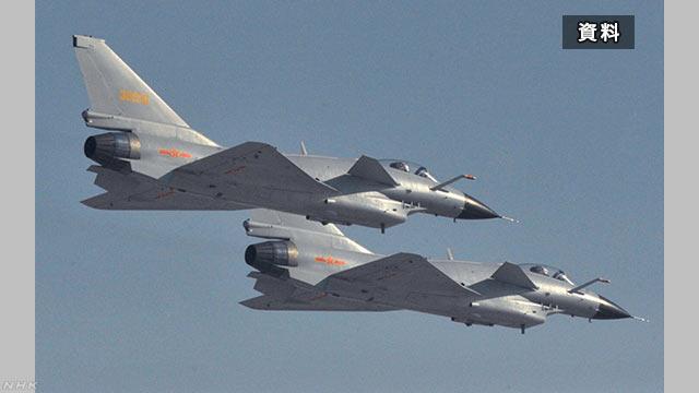 中国戦闘機 米偵察機に異常接近 その距離90m 東シナ海上空 | NHKニュース
