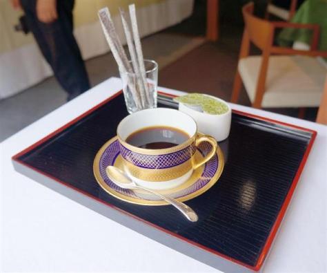 10時のおやつで羽生善治棋聖が注文したホットコーヒー