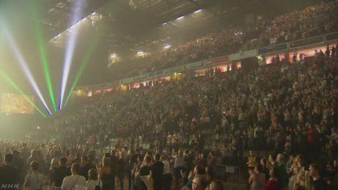 テロ事件で閉鎖 英コンサート会場が約3か月ぶりに再開