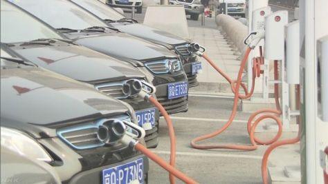 自動車メーカー各社 中国での電気自動車の生産体制強化へ