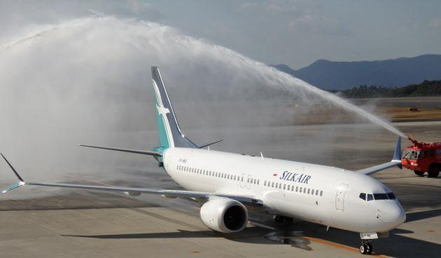 広島―シンガポール直航便が就航 シルクエアー、週3便