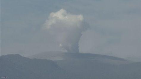 新燃岳の噴火「停止したもよう」 気象庁