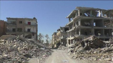 IS標ぼうの「イスラム国家」事実上崩壊 ラッカが陥落
