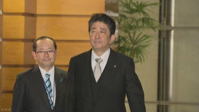 第4次安倍内閣発足 全閣僚を再任 | NHKニュース