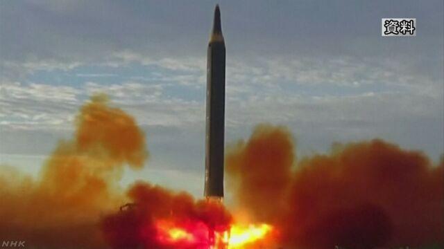 北朝鮮がミサイル追加発射する可能性 韓国情報機関 | NHKニュース