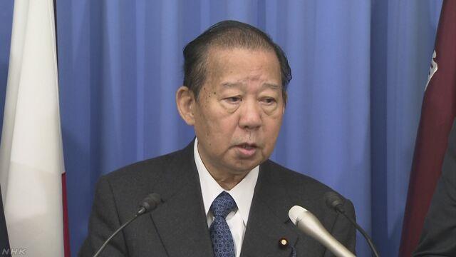 自民 二階幹事長「北朝鮮 追い込みすぎれば爆発」 | NHKニュース