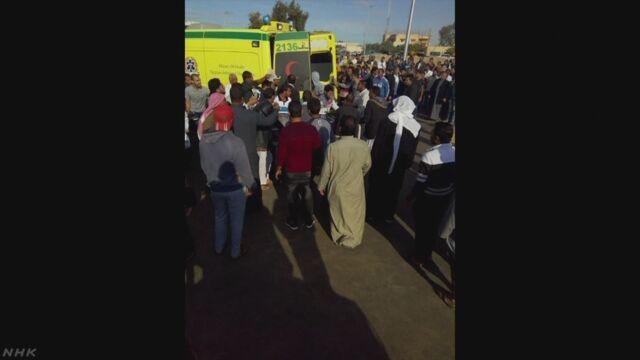 エジプト235人死亡テロ「犯行グループの車両破壊」と発表 | NHKニュース