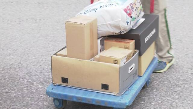荷物の再配達依頼を経験した人は80%超 内閣府調査 | NHKニュース