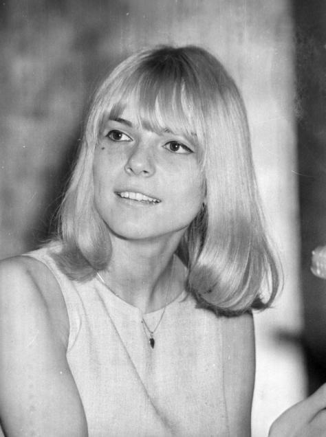 フランス・ギャルさん(1966年6月9日撮影)