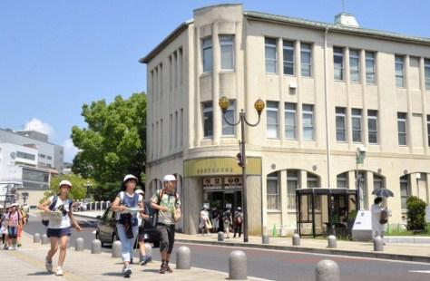 現在のレストハウス周辺=広島市中区で2016年6月撮影