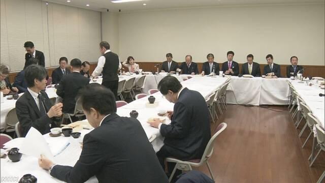 首相のピョンチャン五輪出席に自民部会から反対相次ぐ