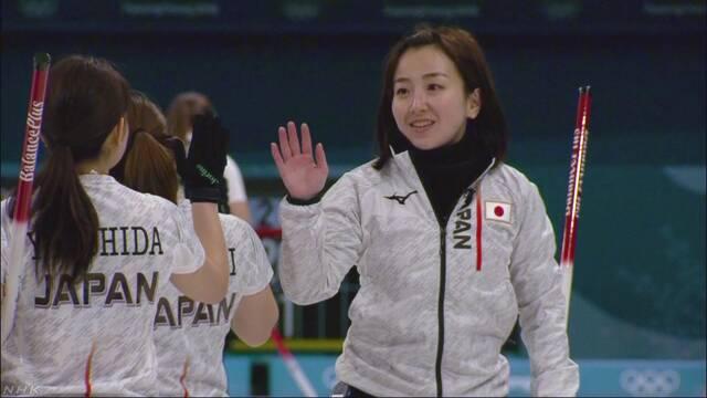 カーリング女子 日本は韓国に勝ち3連勝 | NHKニュース