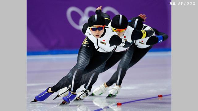 日本 準決勝進出 スピードスケート女子団体パシュート