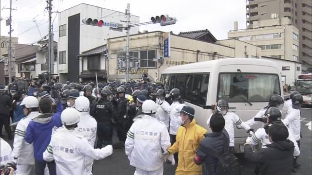「竹島の日」松江で式典 会場周辺は一時騒然   NHKニュース