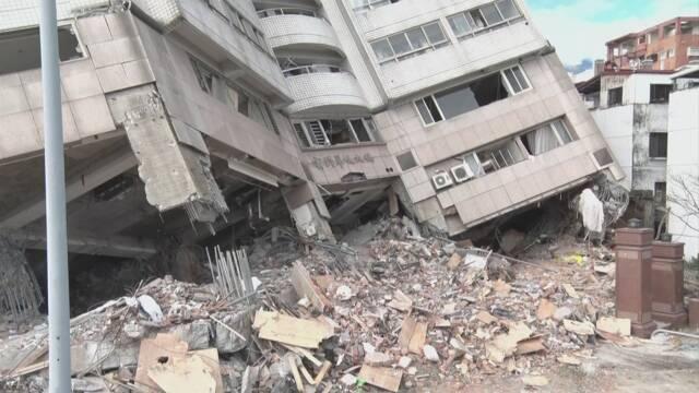 台湾地震 最後の行方不明者発見 死者17人 | NHKニュース
