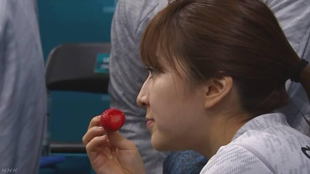 カーリング女子で注目 韓国イチゴは日本から流出 農相 | NHKニュース