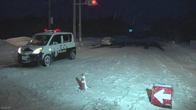 20台絡む衝突事故で5人けが 吹雪で見通しきかず 青森