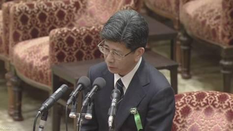佐川氏 改ざん前文書の首相夫人の記述「答弁に影響せず」