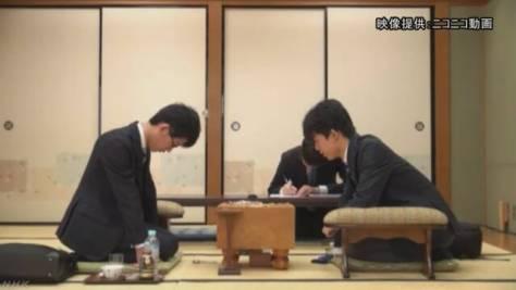 藤井六段 「高校生棋士」としての初戦始まる
