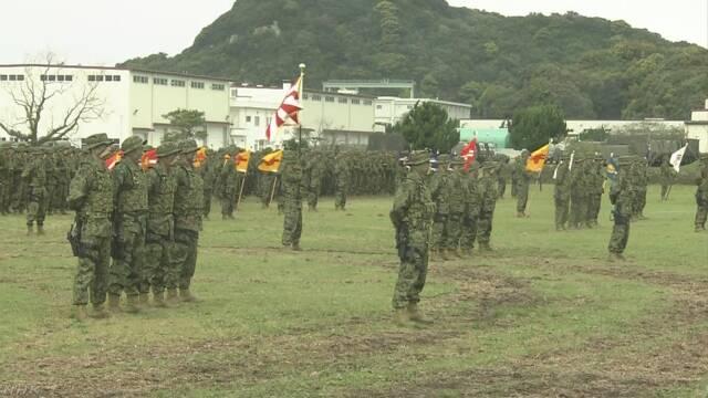 陸自に離島防衛担う上陸作戦専門部隊「水陸機動団」 長崎 佐世保