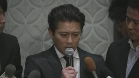 TOKIO山口メンバー 芸能活動は無期限の謹慎
