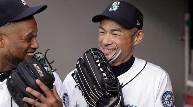 イチロー 会長付特別補佐に 今季ラストゲーム後、目を赤くした弓子夫人と抱擁― スポニチ Sponichi Annex 野球