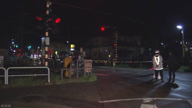 線路で死亡の女児 下校途中に殺害されたか 殺人容疑で捜査