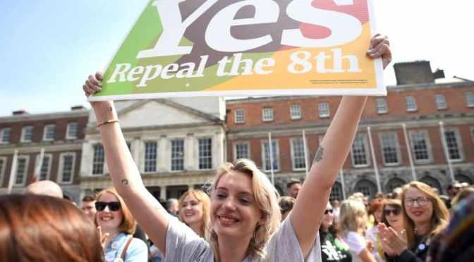 アイルランドで中絶合法化、賛成派勝利 国民投票で