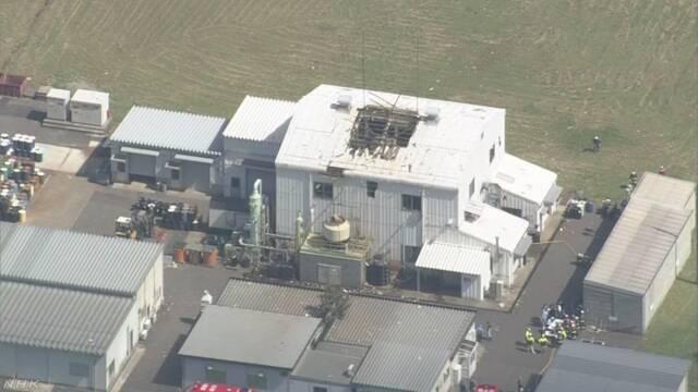 化学工場で爆発 1人死亡 1人重体 福井 若狭町 | NHKニュース