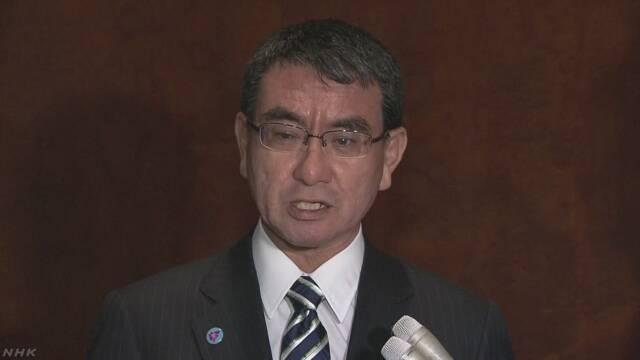 河野外相 北朝鮮のリ・ヨンホ外相と接触 | NHKニュース
