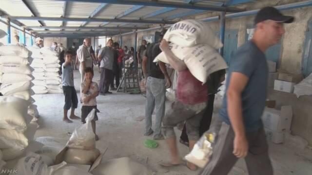 米が資金凍結のパレスチナ難民支援 日本が6億円緊急拠出へ