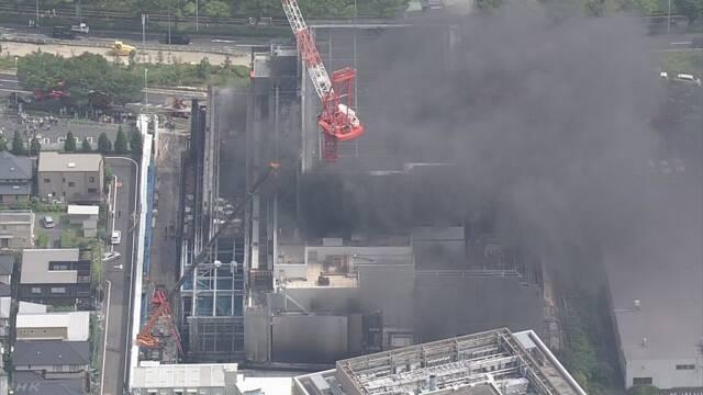 5人死亡のビル火災 断熱材を「燃えやすいウレタン」に変更 | NHKニュース