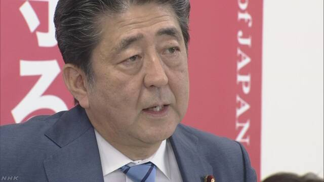 「消費税は予定どおり引き上げたい」安倍氏 | NHKニュース