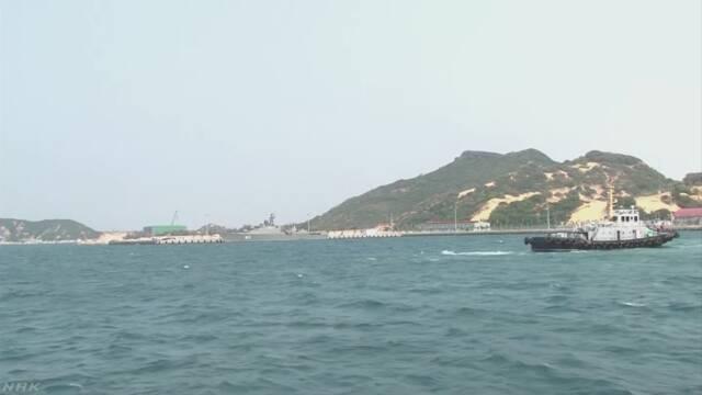 海上自衛隊潜水艦 ベトナムの要衝に初寄港 中国けん制か | NHKニュース