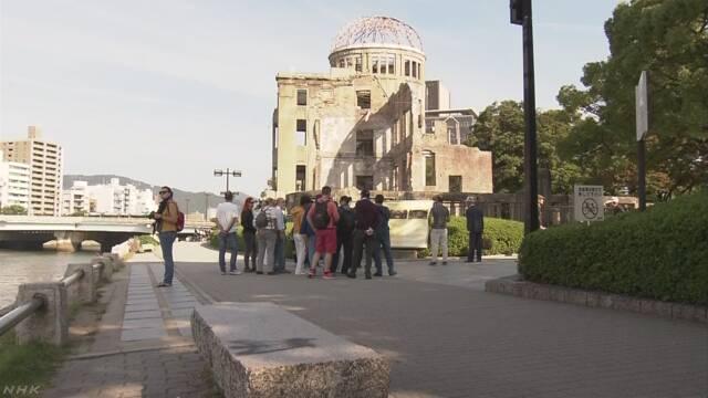 平和公園の落書きはブルガリアの歌劇団スタッフか 広島