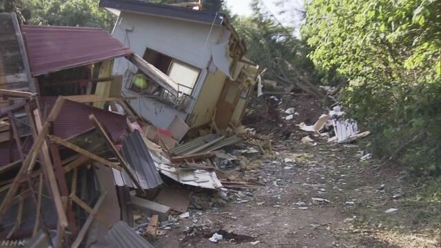 被災で「半壊判定」の住宅にも支援金を 知事会が国に要請へ | NHKニュース