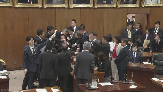 外国人材受け入れ拡大法案 衆院法務委員会で可決 | NHKニュース