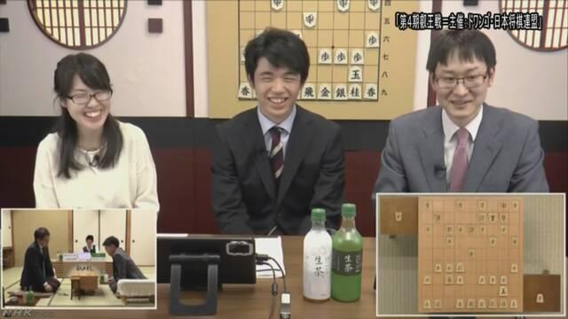 藤井七段が初の解説 将棋のネット番組に出演