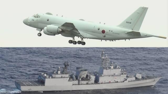 韓国軍による自衛隊機へのレーダー照射 複数回で一定時間続く | NHKニュース